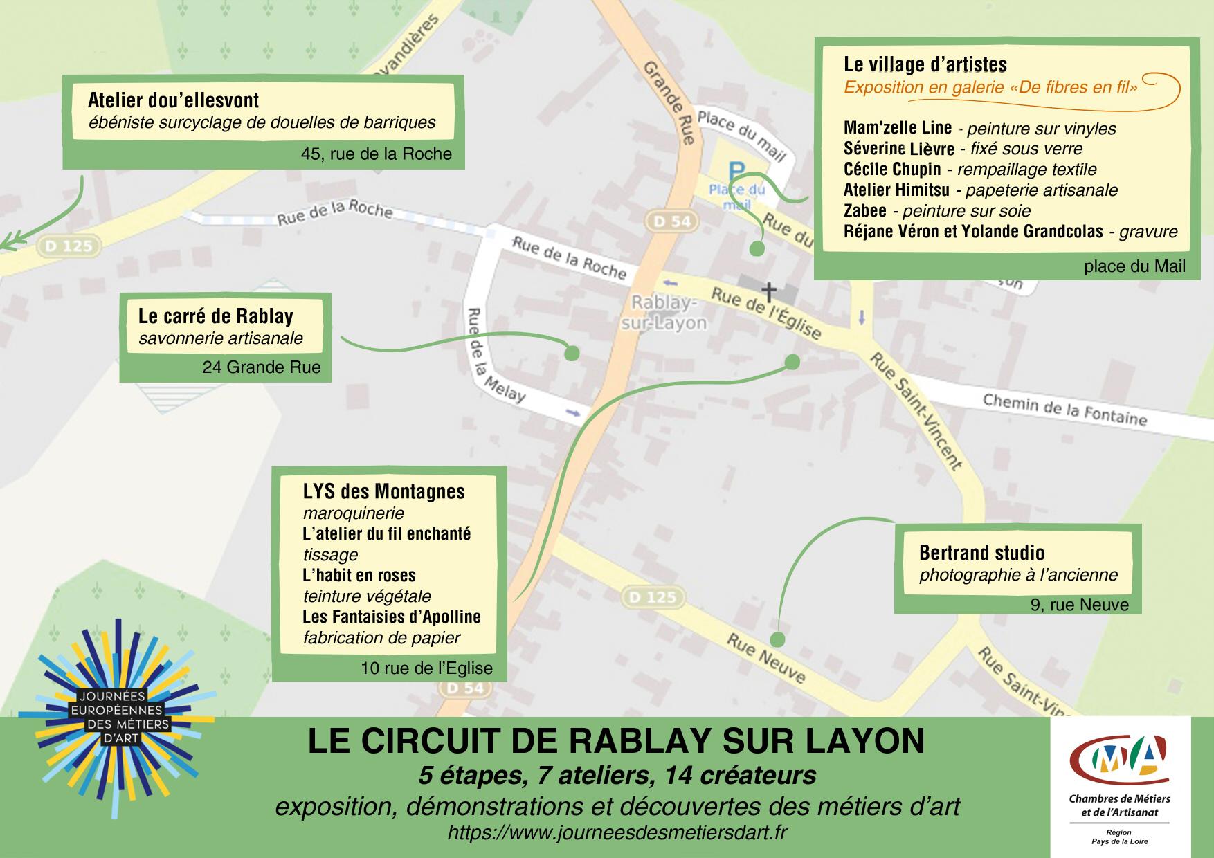 Circuit de Rablay sur Layon