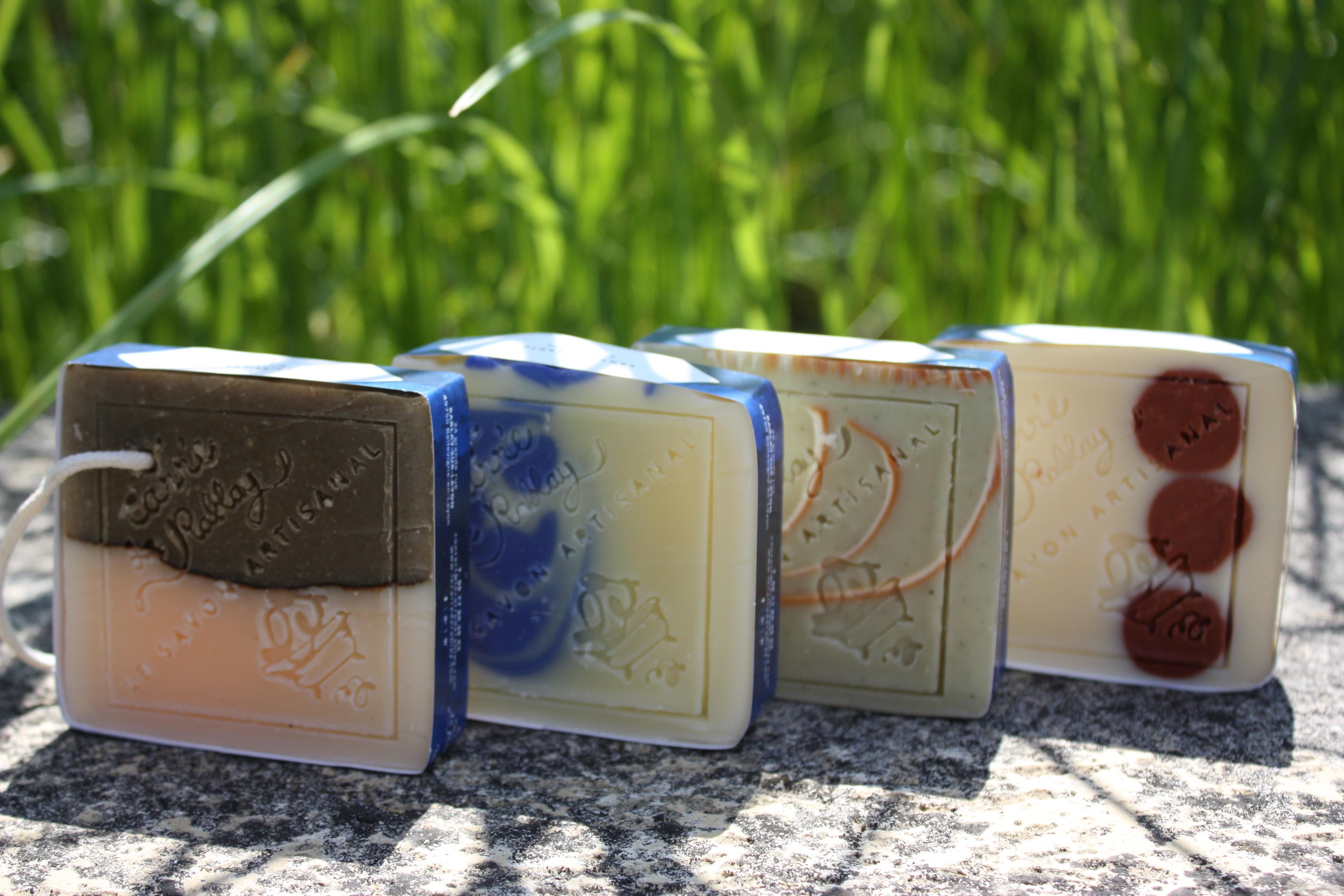 savons naturels et biologiques au beurre de karité